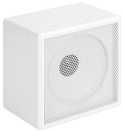 Caixa de Som Tipo Cubo 20RMS 6 Pol. 19,5x19,5x13cm Branco Rontek