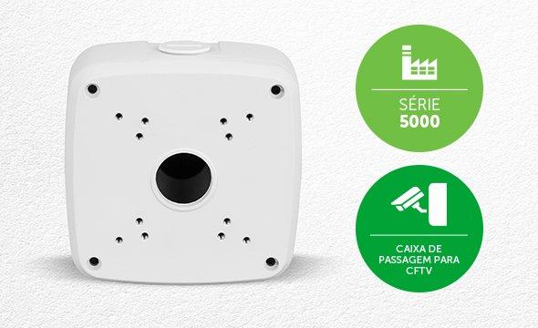 Caixa Metálica p/ Sustentação de Câmeras VBOX 5100 E Intelbras