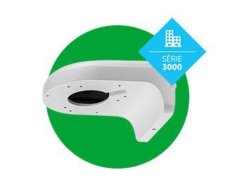 Caixa Metálica para Sustentação de Câmeras VBOX 3000 D Intelbras  - Eletroinfocia