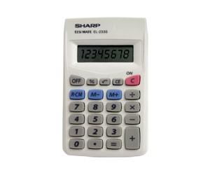 Calculadora Básica 8 Dígitos EL233SBK Sharp