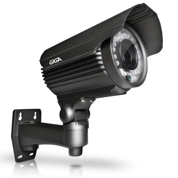 Câmera Bullet 720P Varifocal AHD Exmor 1/3 2,8~12MM IR 40M GSHD40TV Giga