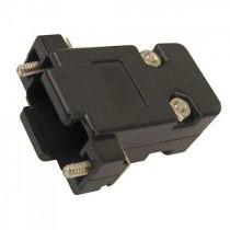 Capa DB9 / DB15 VGA c/ trava kit curto preto