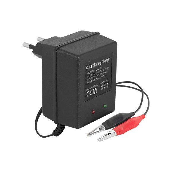 Carregador de Bateria Selada 6V 1A Bi-Volt