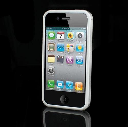 Case p/ iPhone 4 Branco Brilhante
