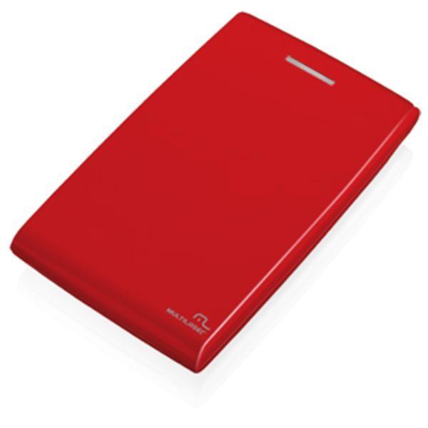 Case Para HD 2,5 Sata Vermelho GA116 Multilaser