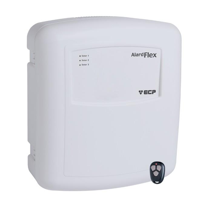 Central D/ Alarme Alard Flex 1 + Key 433MHZ Control ECP