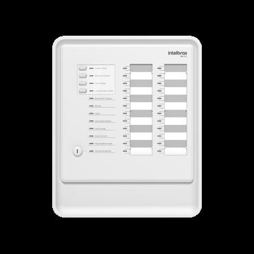 Central De Alarme De Incendio Convencional Cic 24L Intelbras  - Eletroinfocia