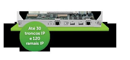 Central PABX Rack 140 - Básica Intelbras
