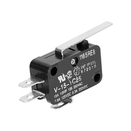 Chave Microswitch 27mm Comutadora 15a 250v (28x16x10mm)