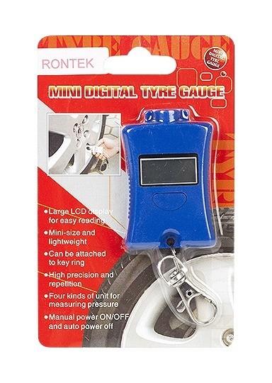 Chaveiro Medidor De Pressão Pneumática Display LCD