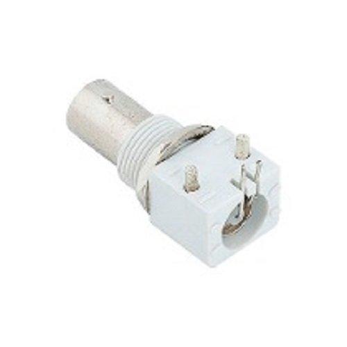 Conector BNC Femea PVC Painel Porca/Arruela