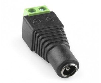 Conector Borne / KRE Tipo P4 DC 5,5mm Fêmea p/ Câmeras