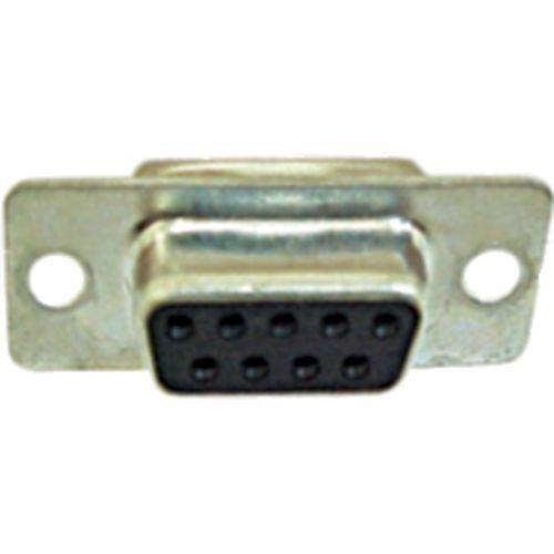 Conector DB9 Fêmea c/ Pinos Solda Fio
