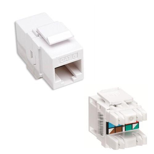 Conector Keystone 180o CAT.6  FU14-7986  - Eletroinfocia