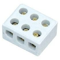 Conector Porcelana MD 3P 10MM Liege  - Eletroinfocia