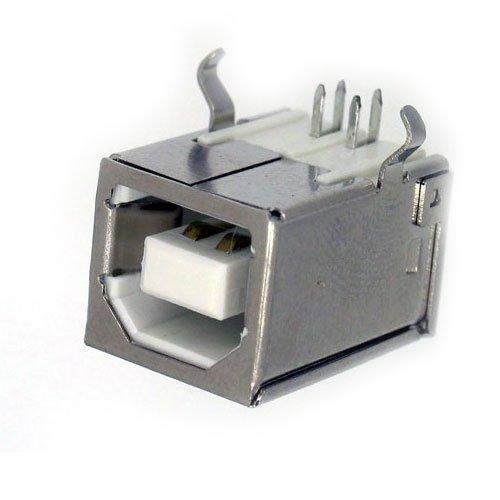 Conector USB Femea 90 Graus p/ Impressora YH-USB03
