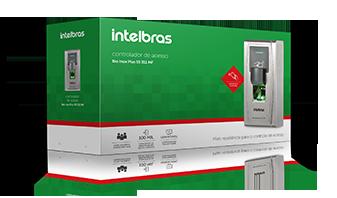 Controlador de Acesso Bio Inox Plus SS 311 MF Intelbras