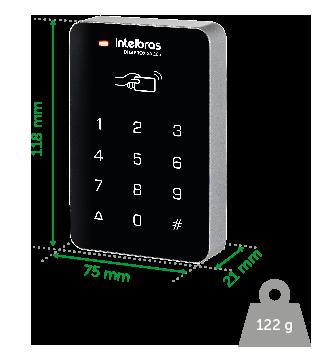 Controlador De Acesso Digiprox Sa 203 Intelbras  - Eletroinfocia
