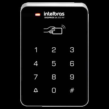 Controlador de Acesso Digiprox SA 203 MF Intelbras  - Eletroinfocia