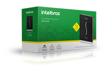 Controlador de Acesso Ibprox SS 120 Intelbras