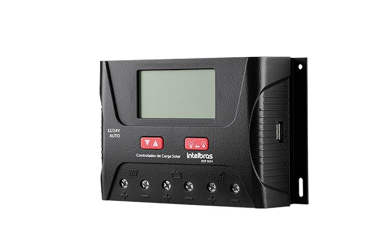Controlador De Carga Pwm Ecp 3024 Intelbras