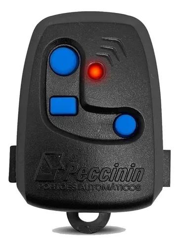 Controle Remoto p/ Portão Eletrônico 434Mhz Preto Peccinin