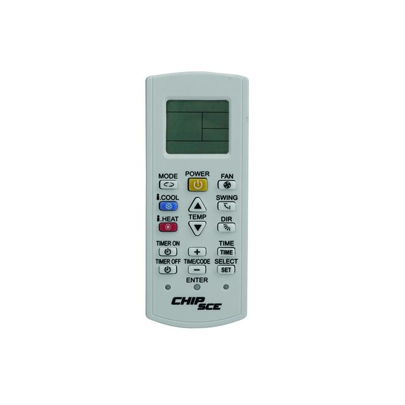 Controle Universal P/AR Condicionado Chip Sce