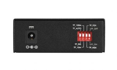 Conversor De Midia Fast KFS 1120 Mono 20Km Intelbras  - Eletroinfocia