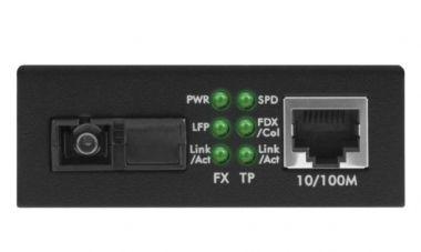 Conversor de Mídia Fast KFSD 1120 A Mono 20 Km WDM Intelbras  - Eletroinfocia