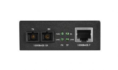 Conversor De Mídia Giga KGM 1105 Multi 0.5 Km Intelbras  - Eletroinfocia
