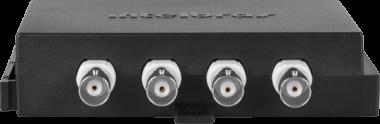 Conversor Estático Vídeo Balun 4 Canais VBP 04C Intelbras  - Eletroinfocia