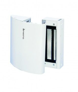 Fechadura Eletroimã FS150 12V Kit Elite Branco C/Sensor