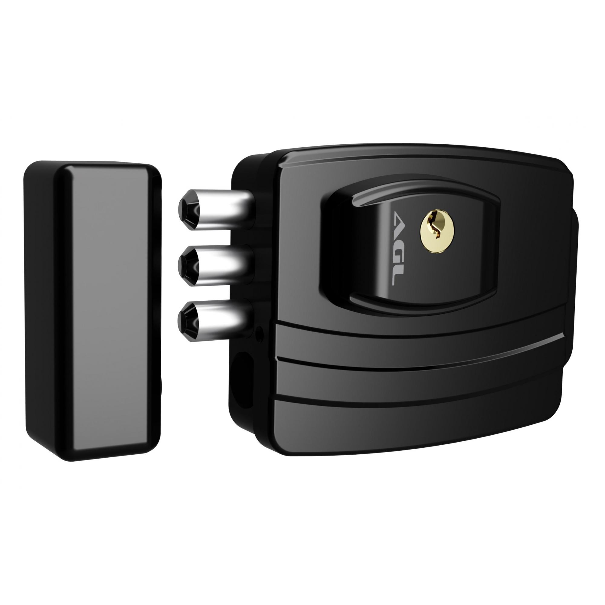 Fechadura Eletrônica Ultra 42MM Preta AGL