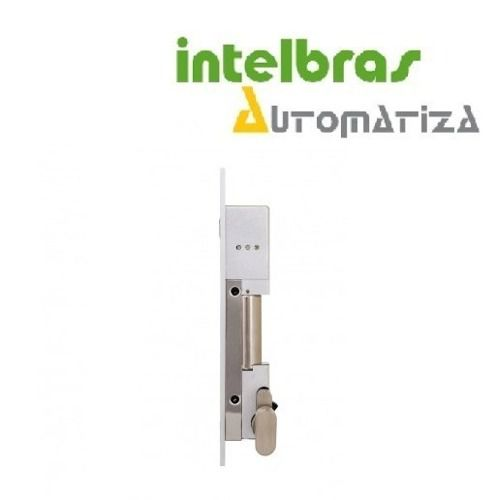 Fechadura Solenoide Fail Secure/Safe Com Chave FS 1010 Intelbras  - Eletroinfocia