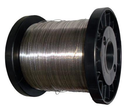 Fio de Aço Inox 0,45mm P/ Cerca Elétrica Rolo c/ 400G  - Eletroinfocia