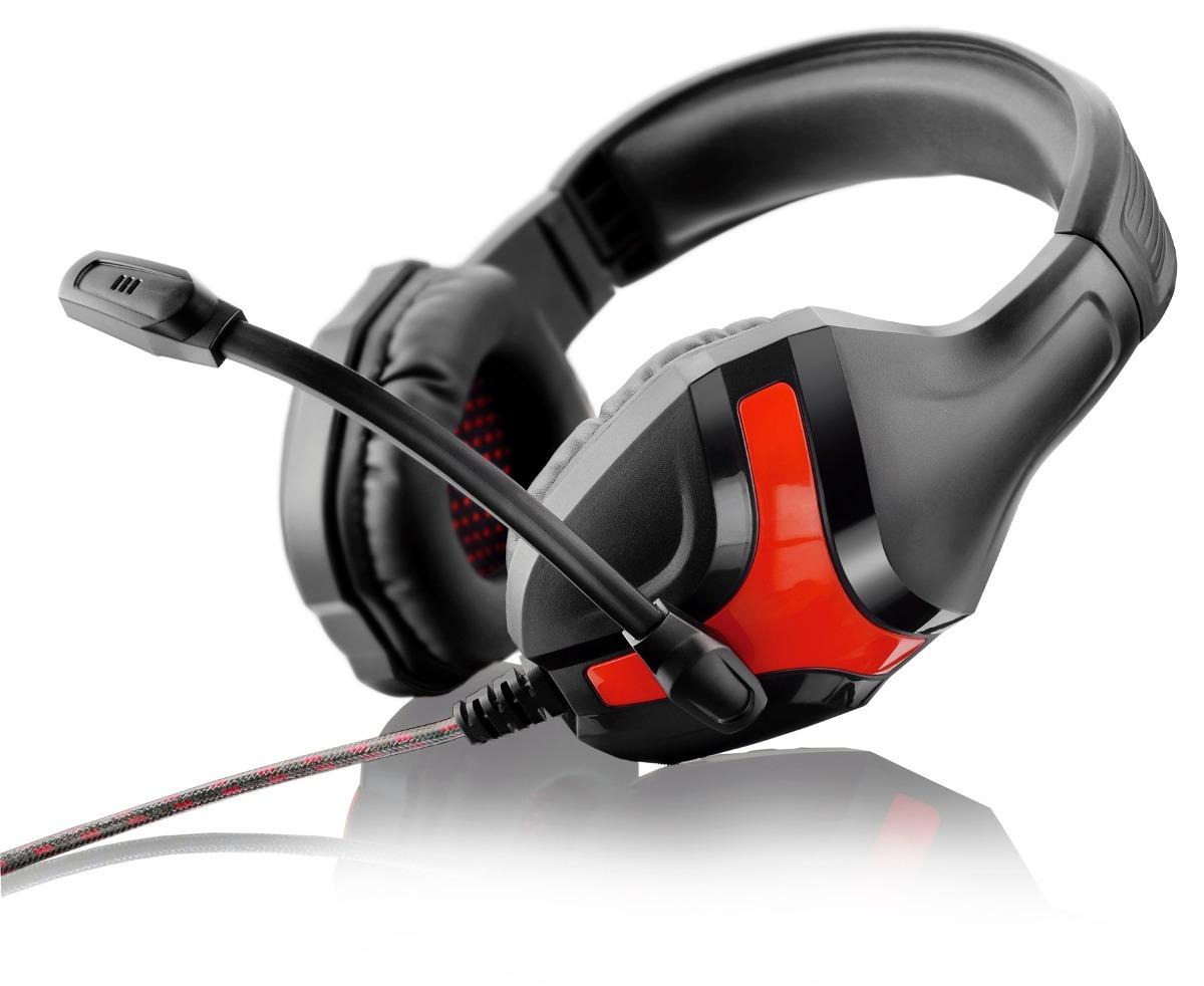 Fone de Ouvido Headset Gamer Red PH101 Multilaser