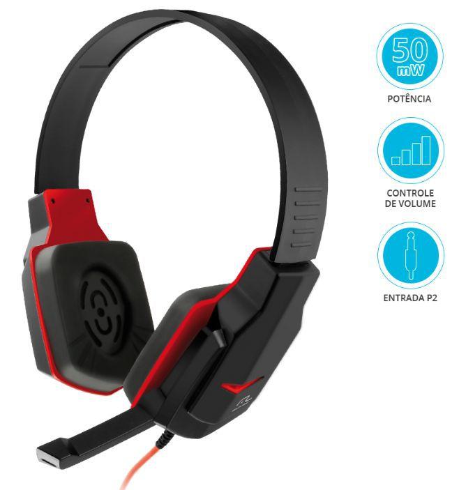 Fone Headset com Microfone PH073 Multilaser