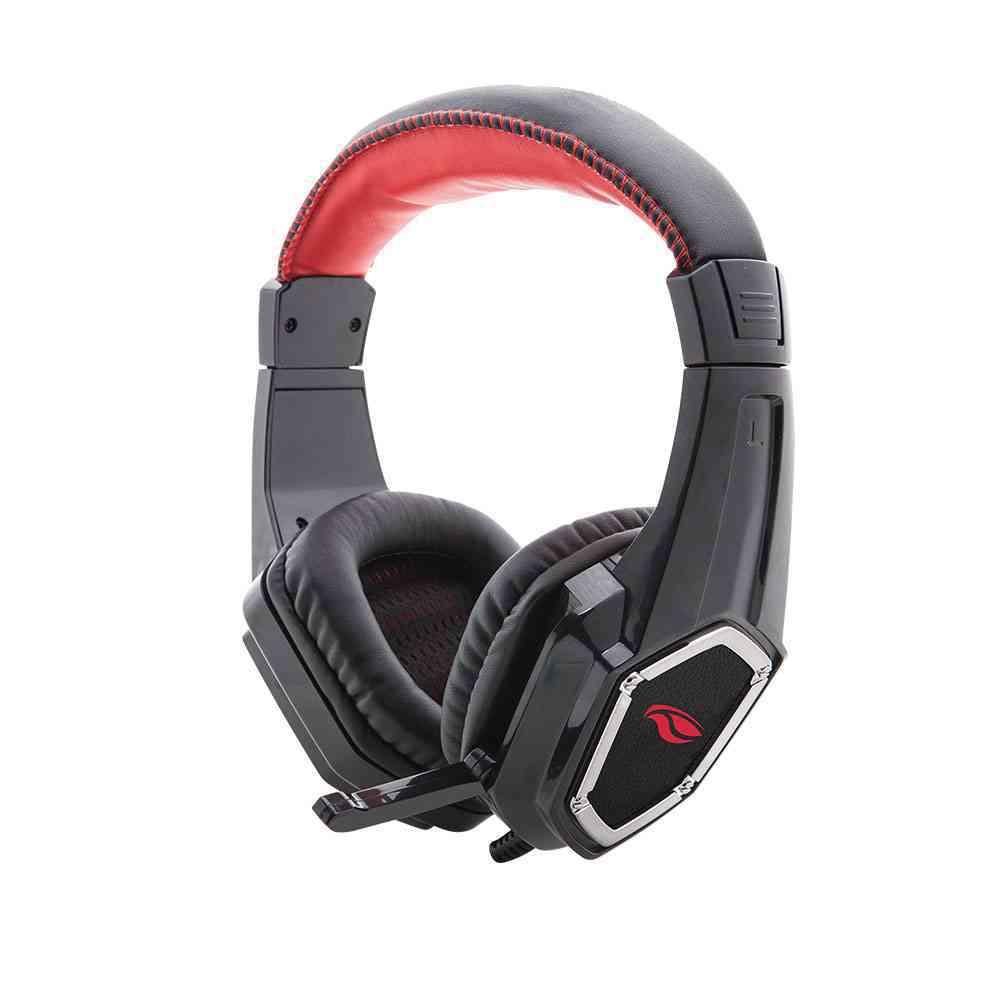 Fone Headset Gammer c/ Microfone CROW PH-G100BK C3 Tech