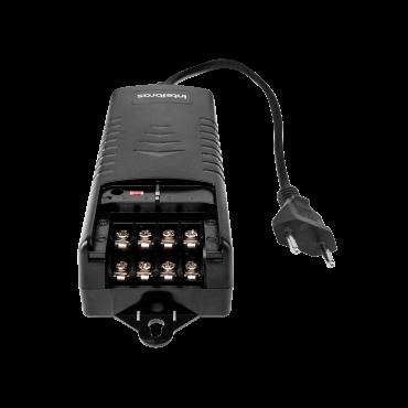 Fonte-Conversor Aut Ac/Dc 12,8V/5A Ef 1205+ Intelbras  - Eletroinfocia