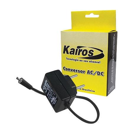 Fonte Para Telefone sem Fio Panasonic 12V 250MA TPA1225 Kairos  - Eletroinfocia