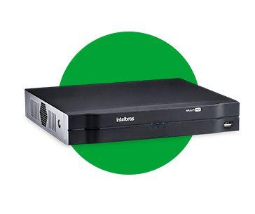 Gravador Digital de Imagem MHDX 1116 Multi-HD C/HD 3TB Intelbras  - Eletroinfocia
