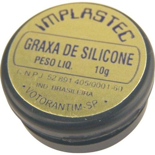 Graxa de Silicone 10 Gramas Implastec
