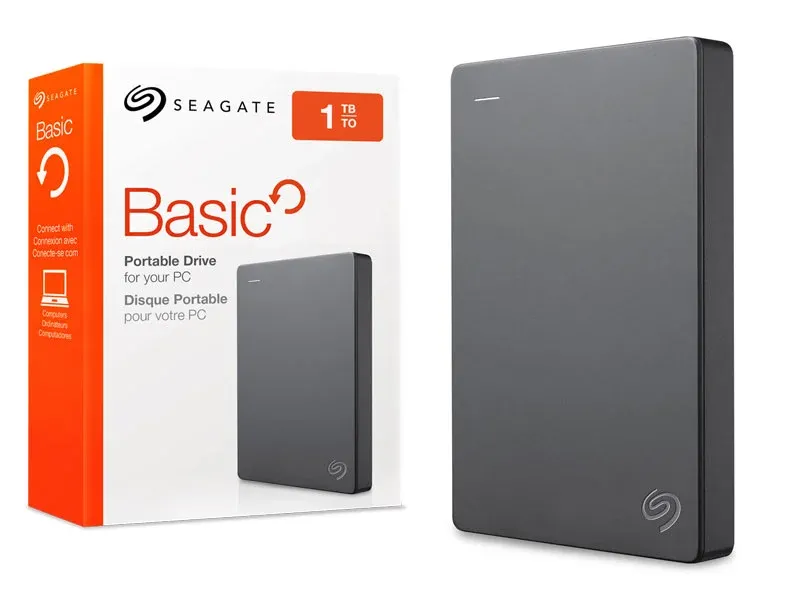 HD 1TB Externo Basic 2,5 USB 3.0 Seagate