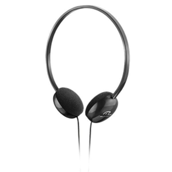 Headphone Estereo Preto PH063 Multilaser