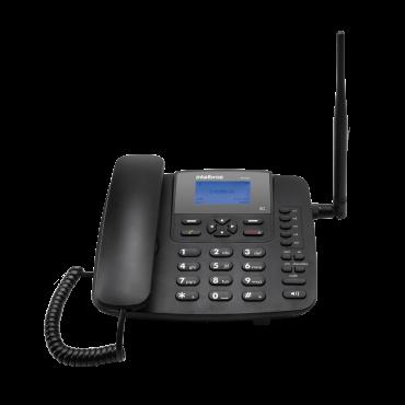 Celular Fixo GSM CFA 6041 Kit (Cel+Antena+Cabo) Intelbras  - Eletroinfocia