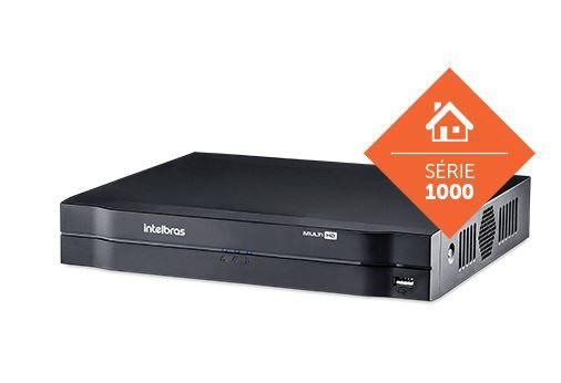 Kit Completo Gravador de Video Digital DVR 4 Canais 720P Intelbras  - Eletroinfocia