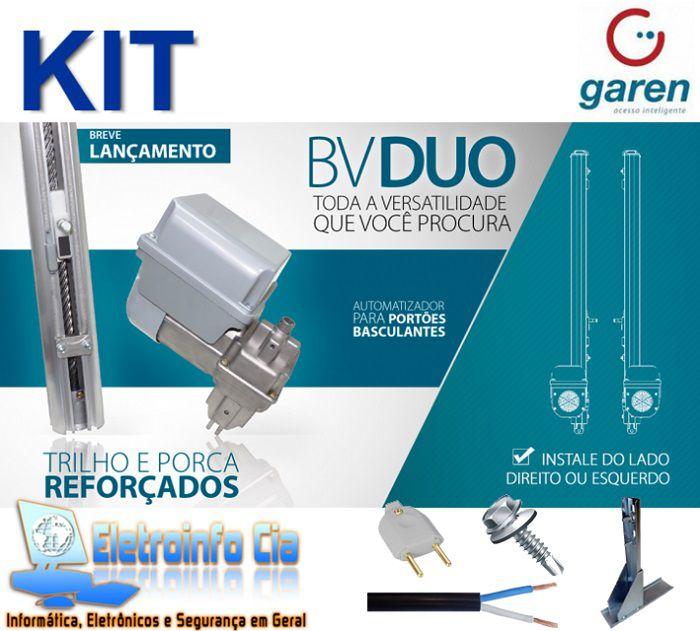 Kit Motor Basculante Max Duo 1/3 (8 Segundos) Garen