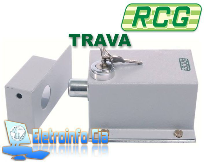 Kit Motor Basculante Taurus 1/3Hp 8S 1.4m + 02 Travas RCG  - Eletroinfocia