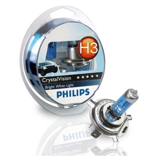 Lâmpada Diamond Vision Blister c/2 UN H3 12V 55W PHILIPS  - Eletroinfocia