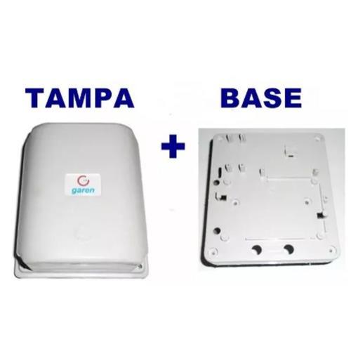 Kit Tampa + Base Motor Basculante Da Central Bv Max Garen